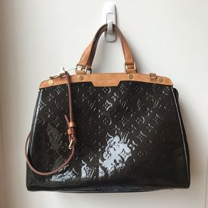 Louis Vuitton brea in monogram vernis GM